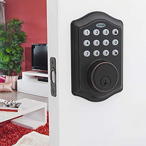 Best Keyless Door Locks Reviews - Honeywell Safes & Door Locks 8712409