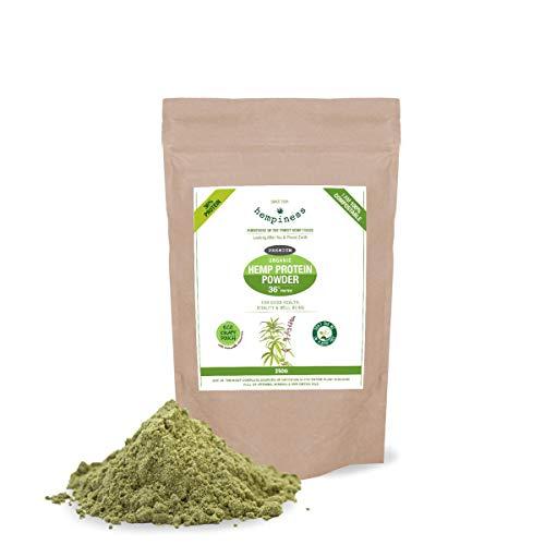 Hempiness Organic Premium Raw Hemp Protein Powder 250g
