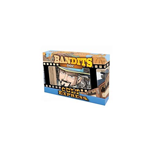Asmodee ASMLUDCOEXEPDO Colt Express Bandits Expansion-Doc, Mehrfarbig