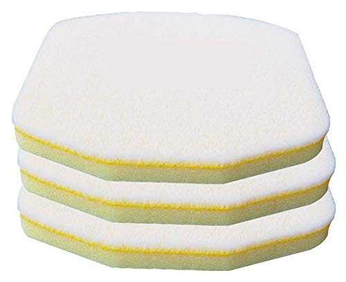 Discount Car Care Products Hand Held Tire Dressing Applicator Replacement Pads (3 Pack)