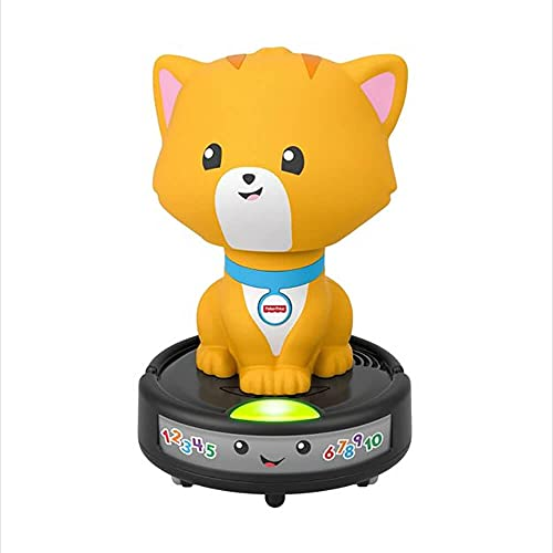 Product Image of the Fisher-Price Laugh & Learn Crawl-After Cat On a Vac