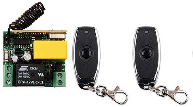 AC220V 1CH 10A Wireless Remote Control Switch System Receiver+