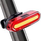 EnShiShiDaNingZiShangMaoYouXianGon luces de conducción al aire libre ciclismo luces traseras USB carga impermeable cola lig