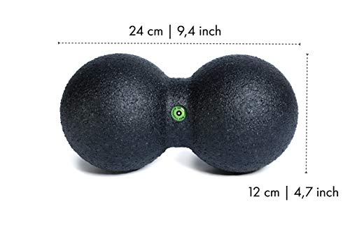 Blackroll DuoBall (Selbstmassagetool, groß 12 cm) schwarz - 2