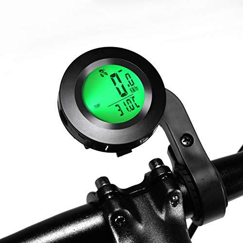KAR Fahrrad Drahtloser Fahrradcomputer Speedometer Wasserdicht Radfahren Luminous Englisch Computer-Entfernungsmesser Auto