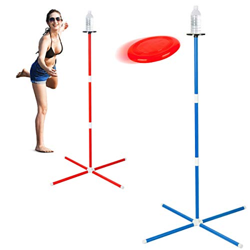 ROPODA Flying Disc, Game Set, Disc Toss Game for Beach,Lawn, Park or Backyard