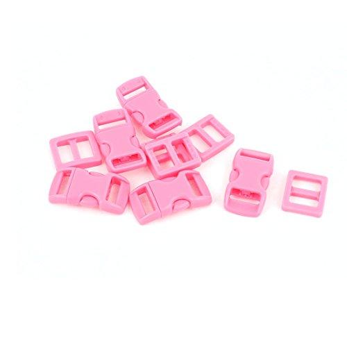 Sourcingmap 5 STK Schnallen und Verschlüsse Klickverschluss 10-11mm Steckschnalle Klippenverschluss für Rucksack und Gurtband de