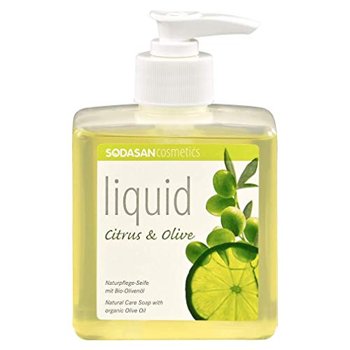 sodasan–Jabón líquido Liquid Citrus & Oliva con aceite de oliva bio (330ml)