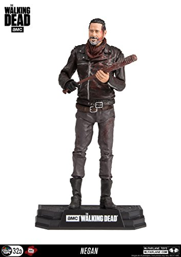 Negan Blutig Version (The Walking Dead) McFarlane 7 Zoll Figur