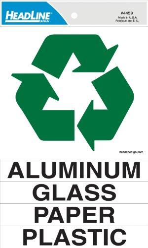 pegatina reciclaje fabricante HeadLine