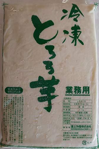 とろろいも 大和芋 ペースト 1kg×10袋 業務用 冷凍