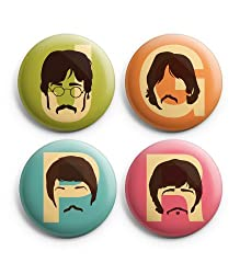 gifts for the ultimate Beatles fan ~ pin badges
