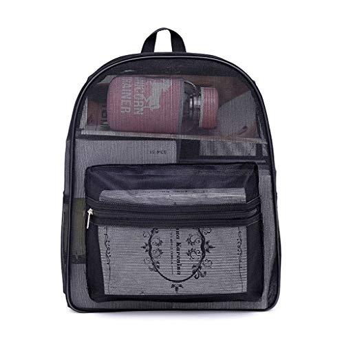 KOFUN Rucksack, Unisex, Sport-Rucksack, Netz-Rucksack, Reise-Schultertasche, Büchertasche, Student Daypack