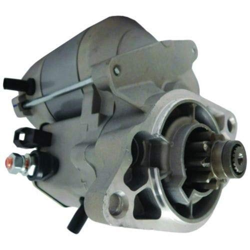 Starter - Denso Style OSGR (17098) Compatible with Kubota BX1850 BX1860 BX1500 BX1830 BX2360 BX25 BX24 R310 KH41 KH61 BX2230 BX2350 16695-63011 Case 1818 1825 1959380C1