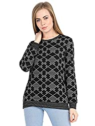 Deewa Printed Sweatshirt for Women/Girls
