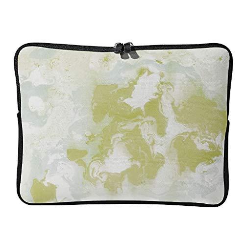 5 tamaños, textura de mármol, funda para portátil de primera calidad, resistente al agua, estilo moderno, protección para portátil, adecuada para viajeros