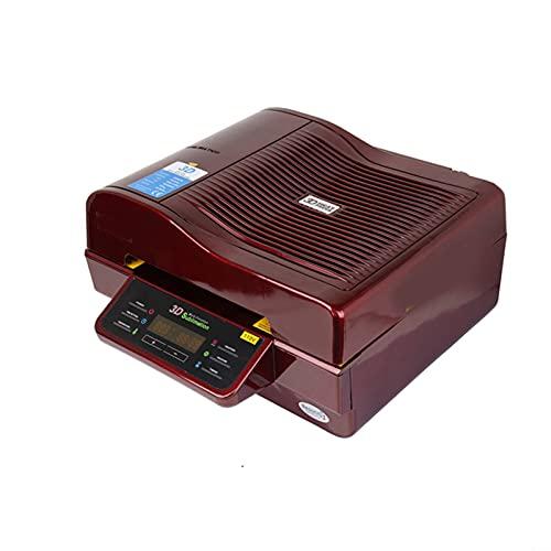 Tqing Máquina de Prensa de vacío 3D Impresora de Prensa de Calor Sublimación 3D Máquina de Prensa de Calor para Cajas Tazas de Tazas Placas Gafas