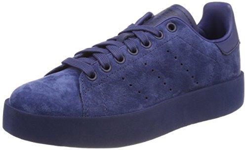 adidas Damen Stan Smith Bold Fitnessschuhe, Blau (Indnob/Indnob/Indnob 000), 37 1/3 EU