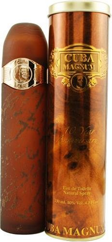 Cuba Paris Perfume De France Cuba Magnum Homme/Men, Eau De Toilette, Vaporisateur/Spray, 130 Ml. 1 Unidad 100 g