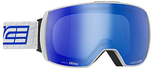 Salice, 605DARWF Skibrille SR + Sonar weiß-blau Unisex Erwachsene, Einheitsgröße