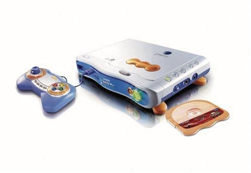 VTech 80-070004 - V.Smile Pro Lernkonsole blau inkl. Lernspiel Cars und CD-Player