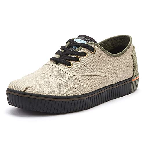 TOMS Venice Collection Cordones Indio Oxford Tan Heritage Canvas 8