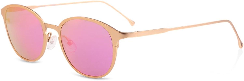Ladies sunglasses Small box reflective bright sunglasses Fashion polarized driving mirrorsA