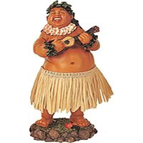 KC Hawaii Leilani Dashboard Hula Doll Local Boy with Ukulele 7 inches