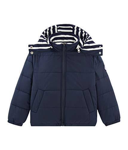 Petit Bateau Doudoune_4968701 Chaqueta, Azul (Smoking 01), 104 (Talla del Fabricante: 4años/104centimeters) para Niños