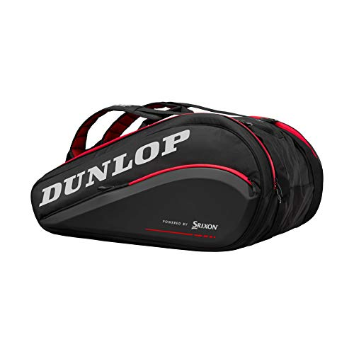DUNLOP Cx Performance 15 Rkt Thermo Blk/Red Raquetero Negro...