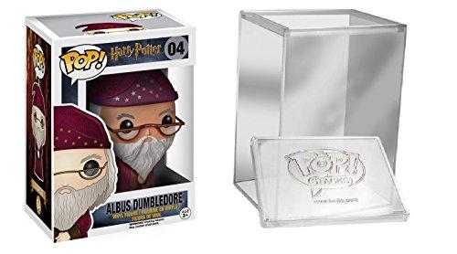Funko POP! Harry Potter: Albus Dumbledore traje rosa + caja protectora
