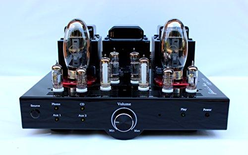 Gabri's Amp ambachtelijke versterker - model Calypso KT150, 1 phono-ingang + 3 regels