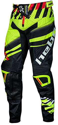 HEBO Stratos Pantalón Enduro-Cross, Adultos Unisex, Lima, Medium