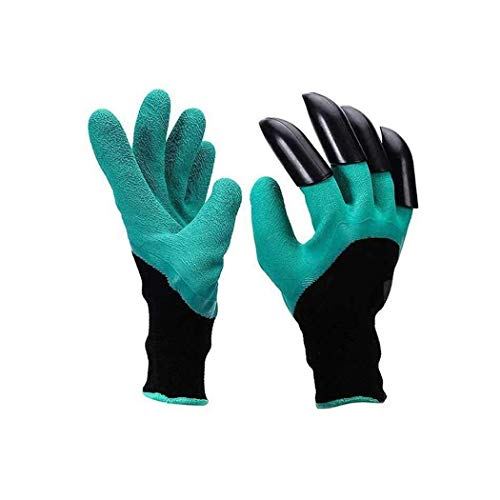 Voiks Gardening Gloves, Thorn Resistant Safe Garden Gloves for Pruning Roses, Digging,...