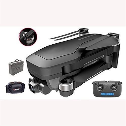 CYLZRCl Dron Súper Batería Drone Plegable Cuadricóptero Cámara Dual HD Profesional 4K Dron Plegable GPS De 2500 M Gimbal Anti-vibración For Aviones Vivir Al Aire Libre (Color : 4K Dual Camera)