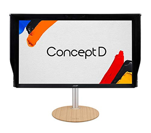 "ConceptD CP3 CP3271K Pbmiippruzx 27"" UHD 4K (3840 x 2160) IPS G-SYNC Compatible Monitor, Pantone Validated, VESA Certified DisplayHDR400, DCI-P3, Delta E<1 (2 x DP, 2 x HDMI & 4 x USB 3.0 Ports)"
