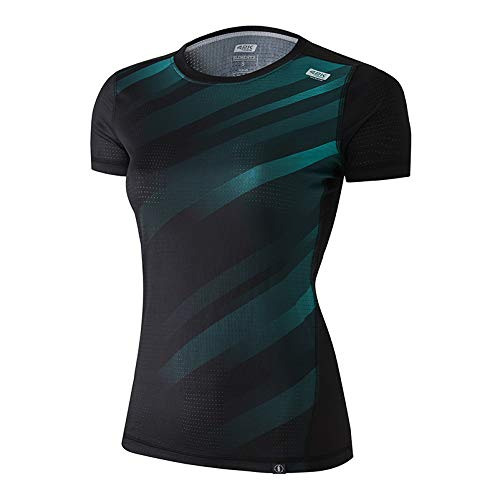 42K Running Elements T-shirt technique 100 % recyclé pour femme L Modèle Hearth
