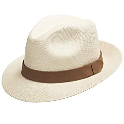 abb58a10980 Ultrafino genuine HAVANA retro Panama straw hat. Classic and lightweight.  ALL SIZES (from X-small to X-large). Made from Toquilla Straw.