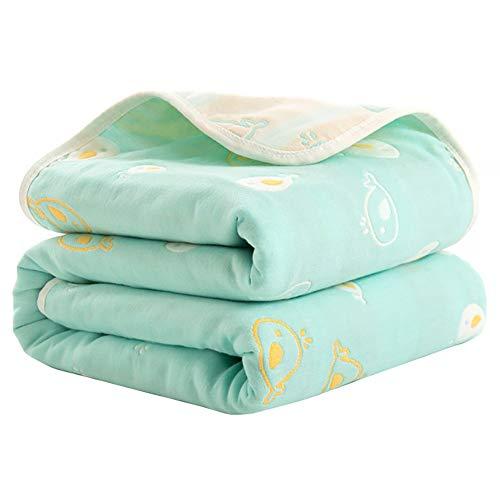 MINI Boutique 6 Couches bébé Gaze Couverture Coton lit Couverture Mignon Confortable Respirant Serviette de Bain Jeter Couverture Cadeau pour canapé canapé bébé Enfants en Bas âge