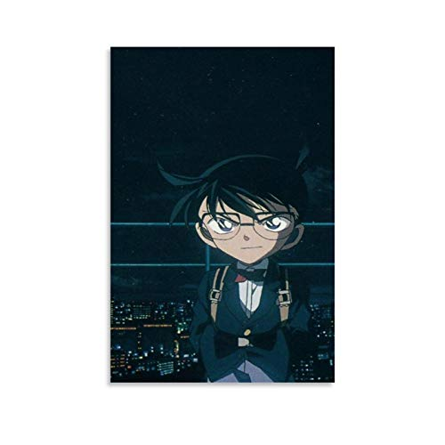 Case Closed Anime Detective Conan Conan Edogawa 4 Kunstdruck auf Leinwand, modern, 60 x 90 cm