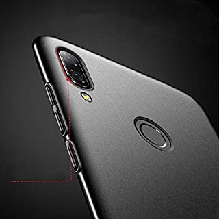 Huawei Nova 3 All-inclusive Tpu hard cover phone shell slim Matte anti fall case  With Tempered Glass Protector Black