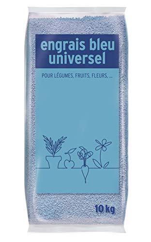 Engrais Bleu Universel, Pour légumes, fruits, fleurs, 10 kg, NNBLUNI10
