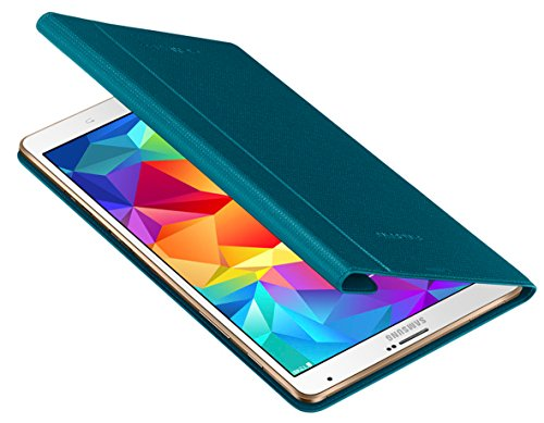 Samsung Folio Schutzhülle Book Hülle Cover für Galaxy Tab S 8.4 Zoll - Electric Blue