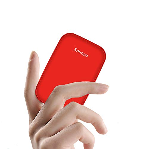 Xnuoyo Batería Externa 10000mAh, Mini Power Bank PD 18W Cargador Portátil Tipo C PD Bateria Externa para Movil para iPhone Xiaomi Mi 9 Batería Externa de Pobreza
