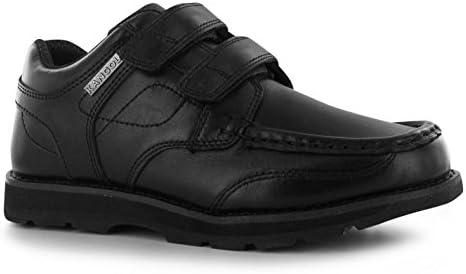 Kangol Kids Harrow Vel Junior Shoes Hook And Loop Tape Casual Footwear