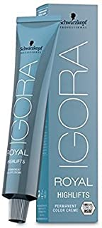 Schwarzkopf Igora Royal Permanent Hair Color Highlifts 12-19 Special Blonde Cendre Violet