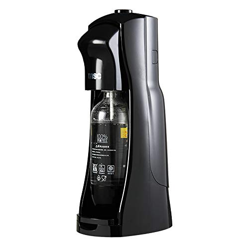 JIASHU 1L Bubble Water Machine Bubble Water Generator, Jet Sparkling Water Maker, Carbonator Not Included, Black, Without CO2 Cylinder Soda Maker
