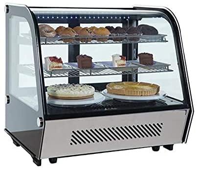 Kolice Caja de exhibición comercial de la torta de la encimera del gabinete de la panadería del refrigerador de la panadería exhibición del escaparate de la torta del