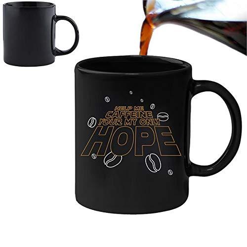 Help me Caffeine, You're My only Hope - Leuke nieuwigheid thee koffie drinken mok cup
