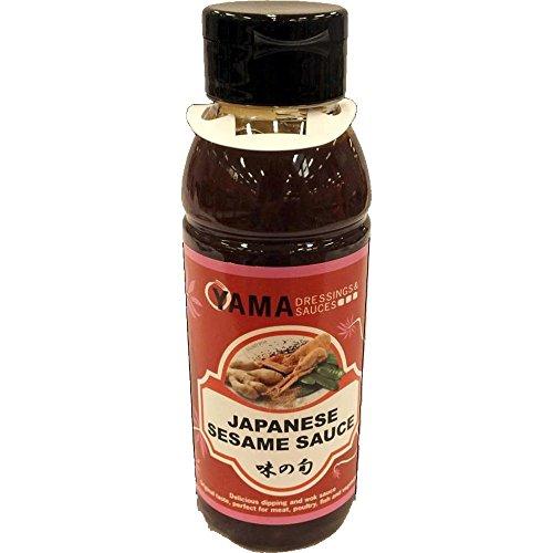 Yama Japanese Sesame Sauce 330ml Flasche (Japanische Sesam Sauce)